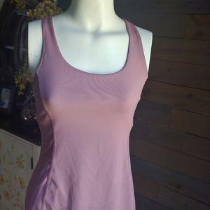 Kyodan Athletic Yoga Top P/S Pink Cutout Back